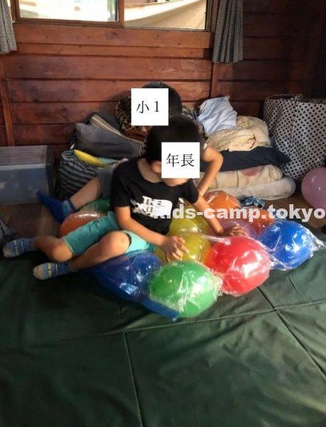 バルーンマット キャンプ