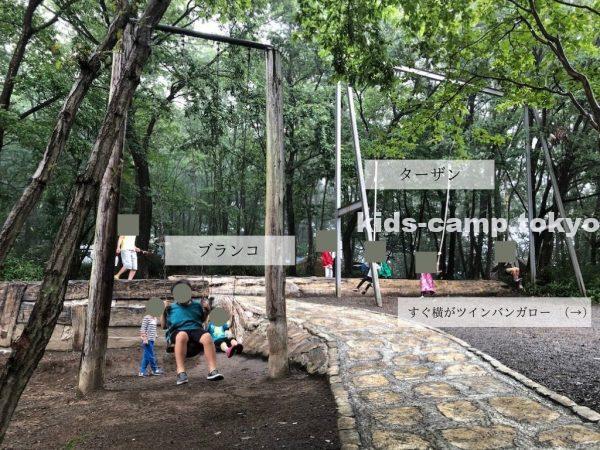 赤城山オートキャンプ場 遊具