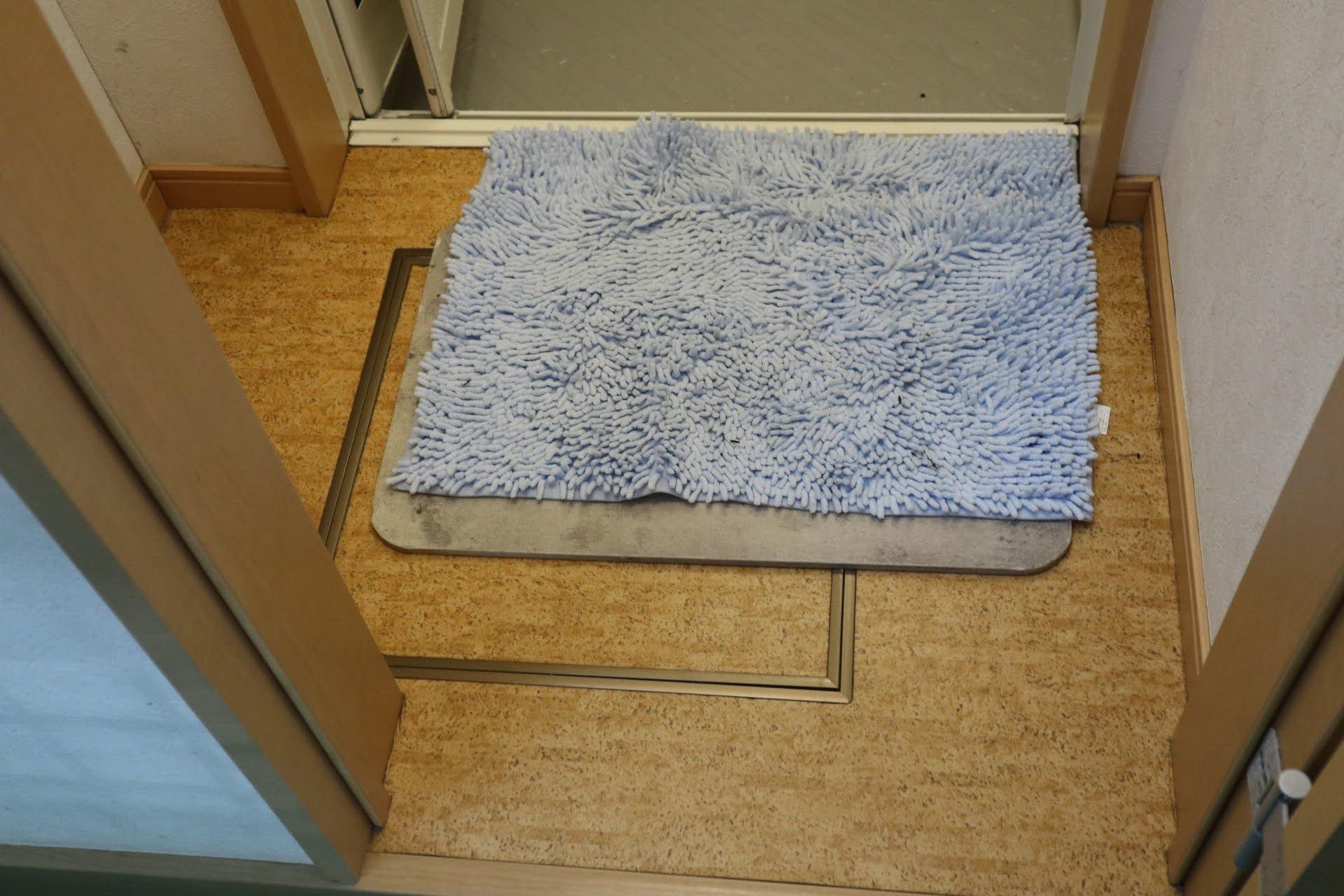 大滝キャンプ場シャワー室